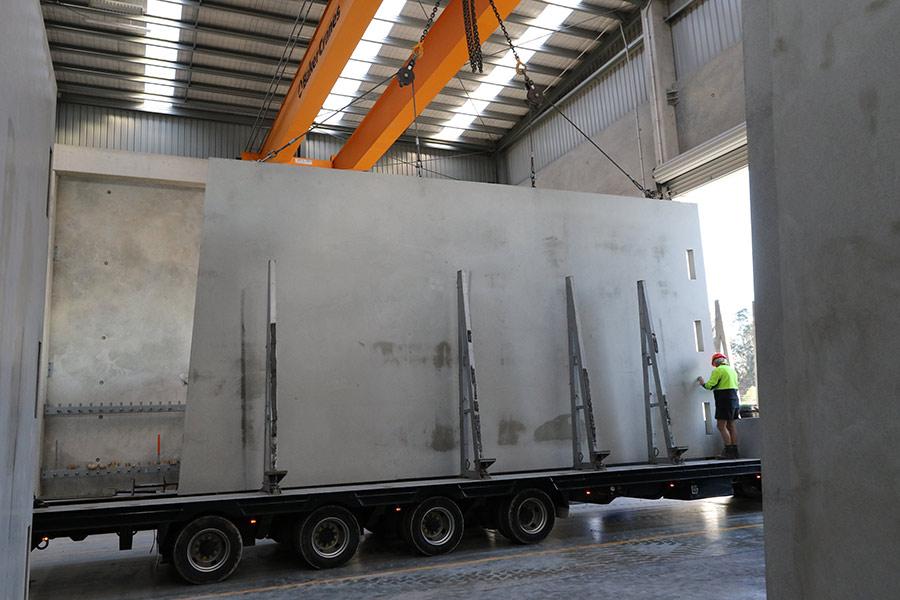 Concrete Panel Transport Logistics Service 187 Mackley