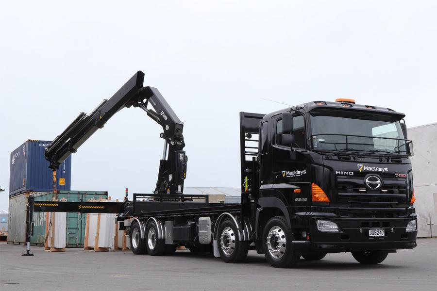 Hiab Crane Truck Hire Transport Amp Logistics 187 Mackley